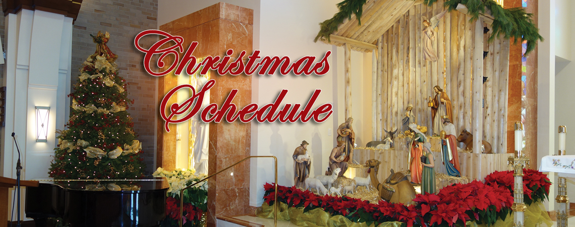 Christmas Mass Schedule 2019